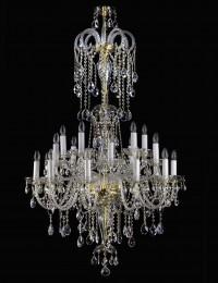 Большая хрустальная люстра Artglass серия THEODORA XX. 910x1500