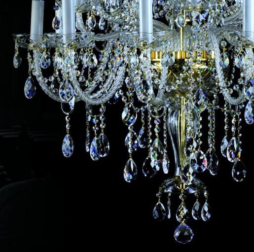 Большая хрустальная люстра Artglass серия THEODORA XX