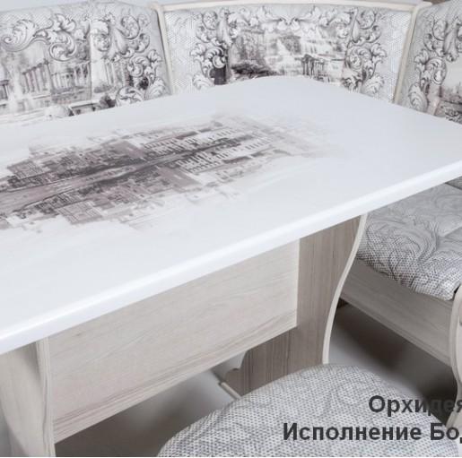 Кухонный уголок Орхидея Автор Бодега светлый