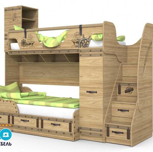 Кровать «Корсар-4»