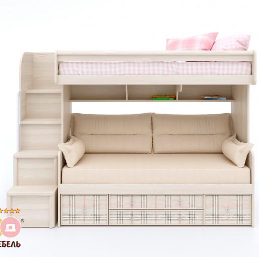Кровать «Кембридж-3» с ящиком + кровать «Кембридж-1»