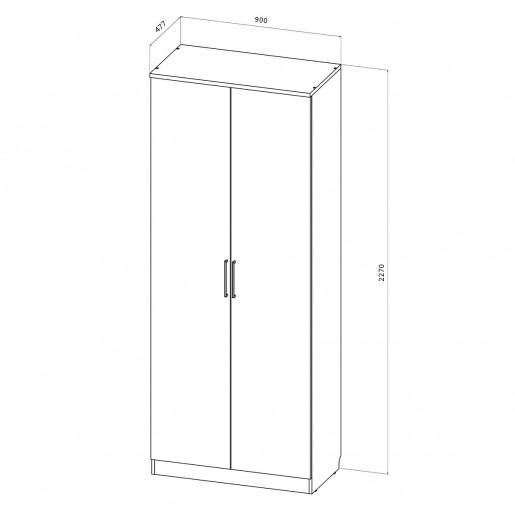 Шкаф без ящиков Стокгольм С-10