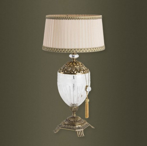Декоративная настольная лампа Kutek Esti EST-LG-1(P)