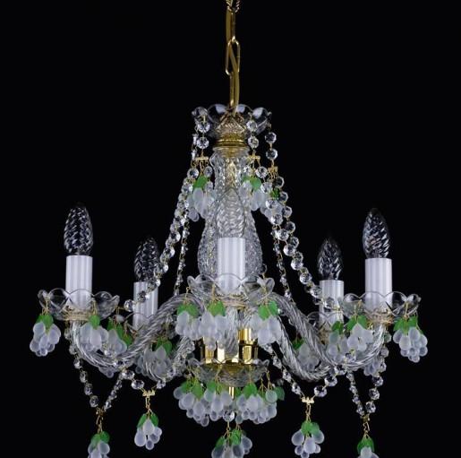 Люстра Artglass ADINA V. WHITE