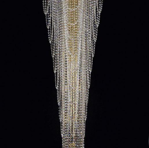 Люстра Artglass MELANIE DIA 550x1500 CE