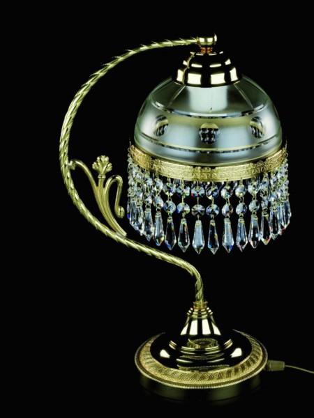 Настольная лампа Artglass SCARLETT WHITE GOLD CE