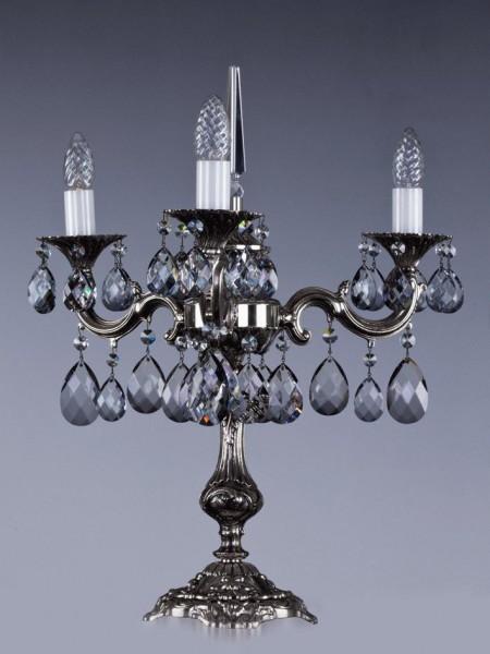 Настольная лампа Artglass SONA III. NICKEL ANTIQUE - 8006