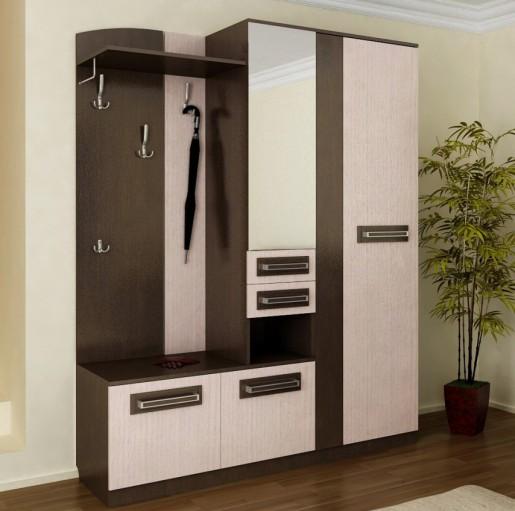 Модульная мебель для прихожей «Лаура»