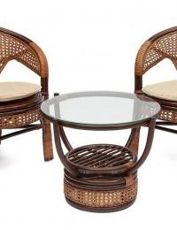 комплект для отдыха Pelangi 2 кресла+стол