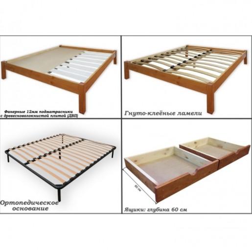 Кровать массив Жемчужина