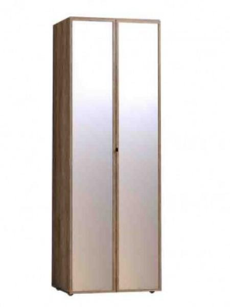 Шкаф для одежды 54 Фасад Зеркало + Зеркало «Nature»