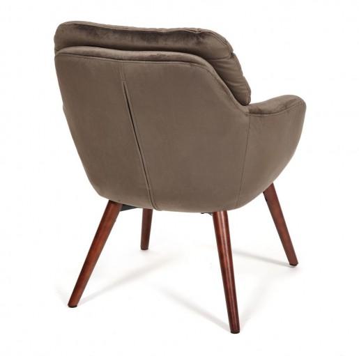 Кресло ORFEI дерево, ткань, 65*75*87, коричневый