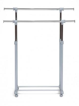Вешалка NY-3295 металл, хром/серый