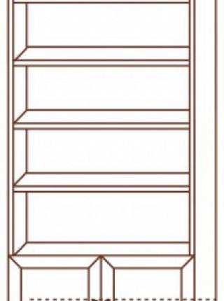 Стеллаж № 109 с дверями