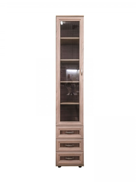 Шкаф пенал № 112 с 3 ящиками
