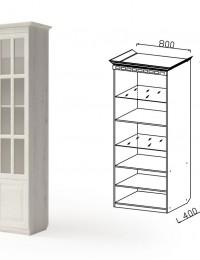 Шкаф 2-ух дверный Гармония-6